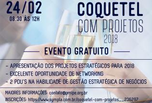 Coquetel com Projetos 2018