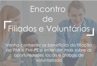 Encontro de Filiados e Voluntários - Novembro/19