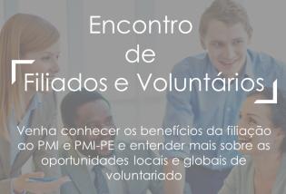 Encontro de Filiados e Voluntários - Agosto/19