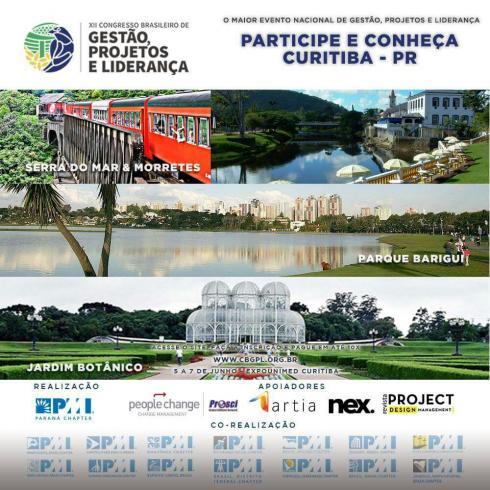 XII Congresso Brasileiro de Gestão, Projetos e Liderança