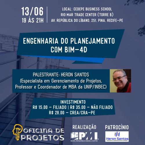 Oficina de Projeto - Engenharia do Planejamento com BIM 4D