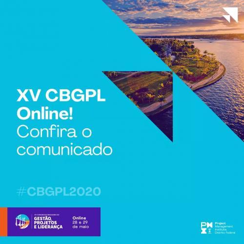 XV CBGPL - Online!