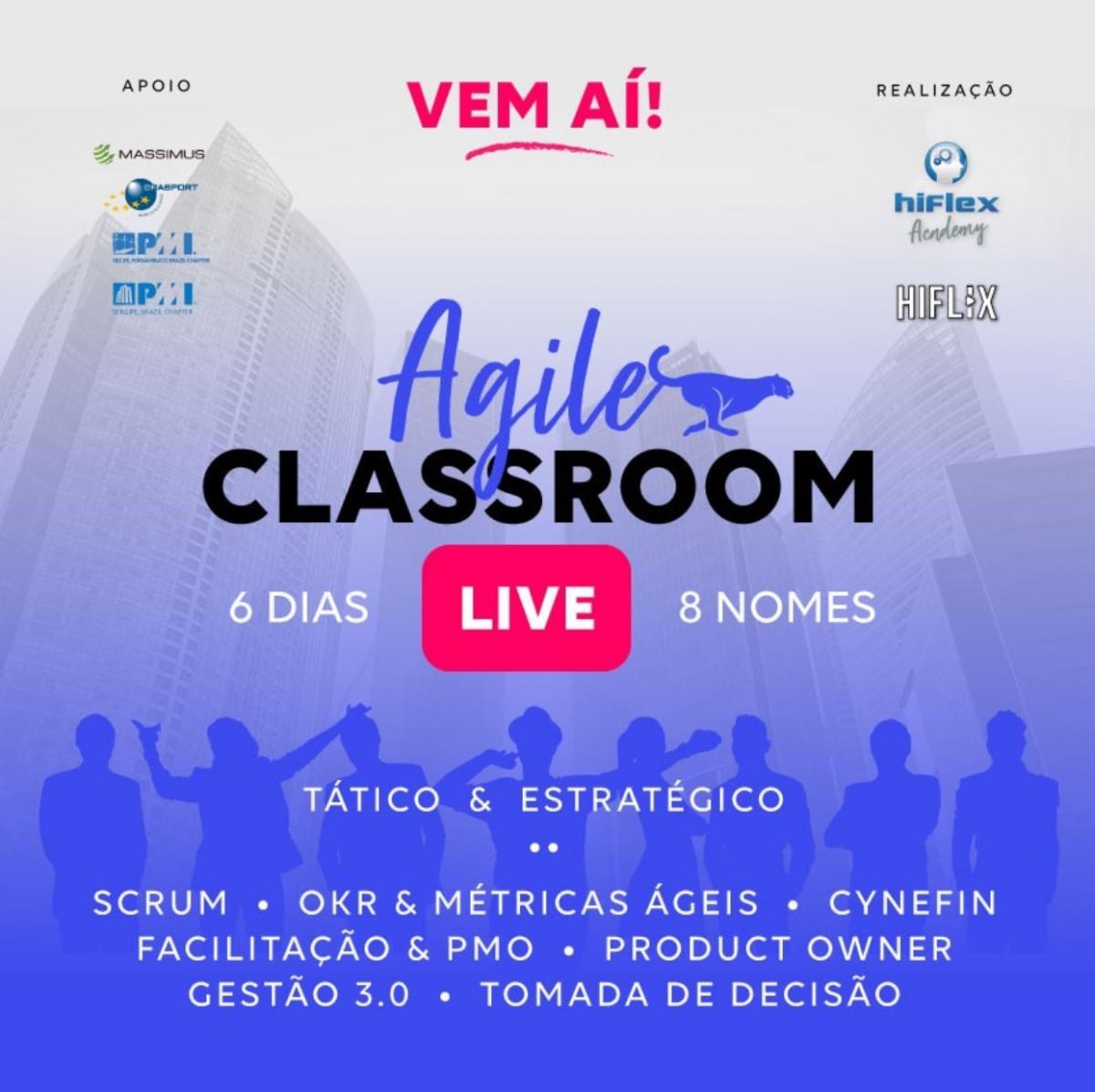 Agile Classroom LIVE - Tático e Estratégico