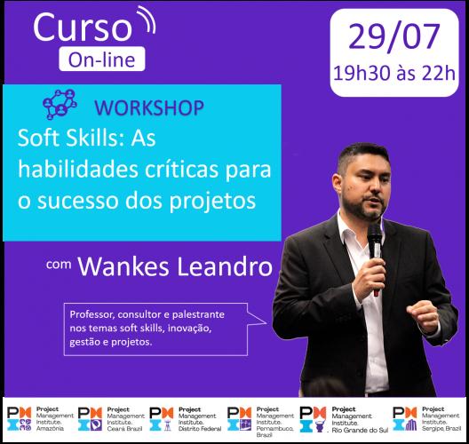 Curso On-line: Soft Skills: As habilidades críticas para o sucesso dos projetos