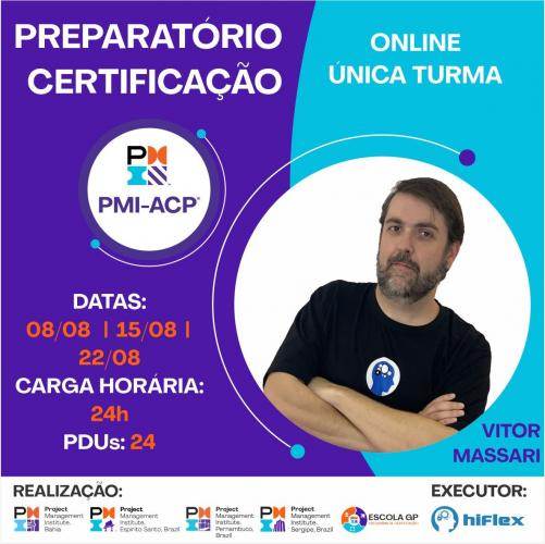 Preparatório Certificação PMI-ACP