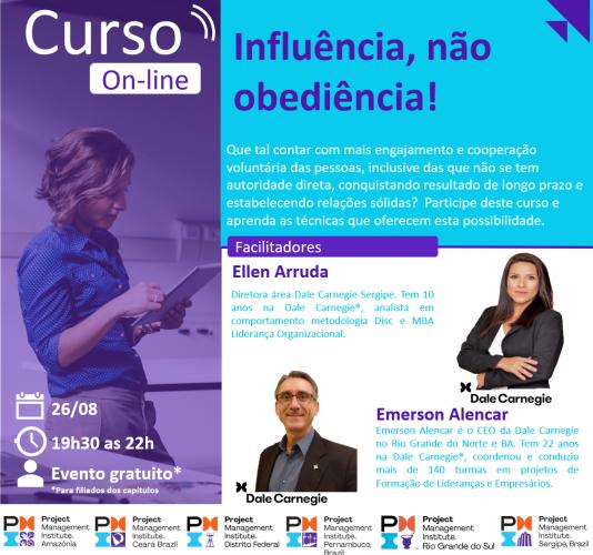 Curso Online | Influência, não obediência!