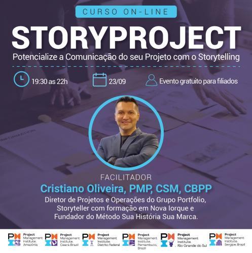 Curso Online | StoryProject - Potencialize a Comunicação do seu Projeto com o Storytelling