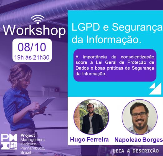 Workshop - LGPD e Segurança da Informação