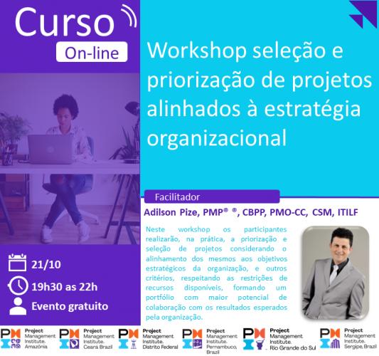 Curso Online | Seleção e priorização de projetos alinhados à estratégia organizacional