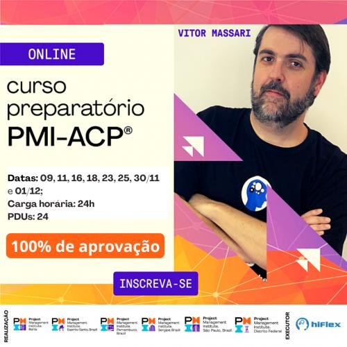 Preparatório Certificação PMI-ACP - Online - Última Turma 2020