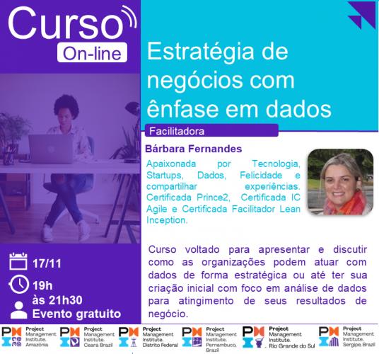 Curso Online | Estratégia de negócios com ênfase em dados