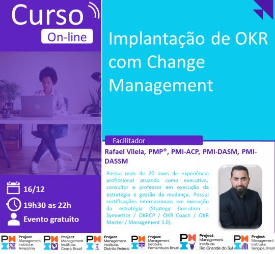 Curso Online | Implantação de OKR com Change Management