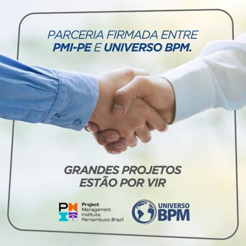 Parceria PMI PE e Universo BPM