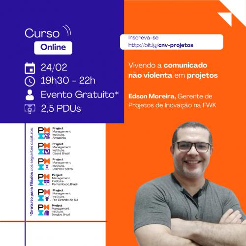 Curso Online | Vivendo a Comunicação Não Violenta em projetos