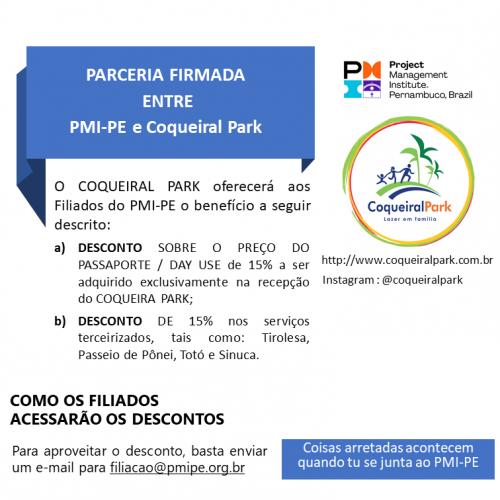 Parceria PMI-PE e Coqueiral Park
