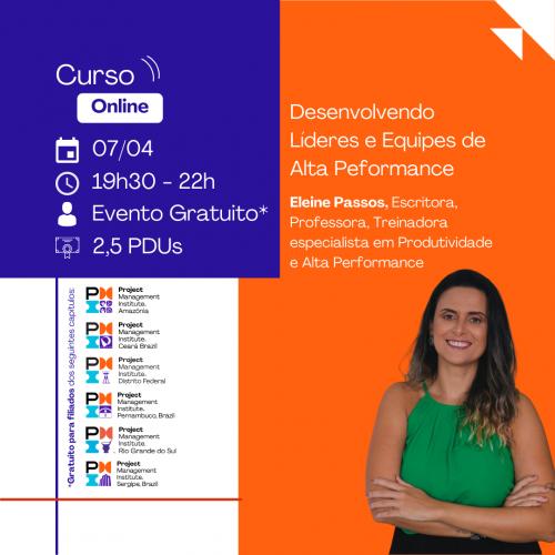 Curso Online | Desenvolvendo Líderes e Equipes de Alta Peformance