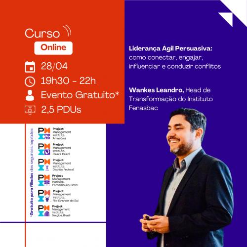 Curso Online | Liderança Ágil Persuasiva: como conectar, engajar, influenciar e conduzir conflitos