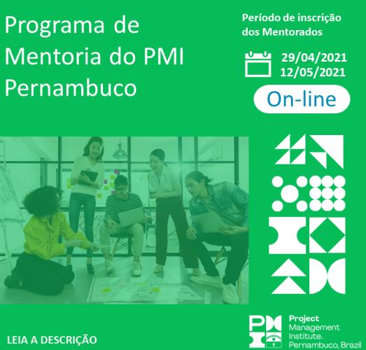 Programa de Mentoria do PMI Pernambuco