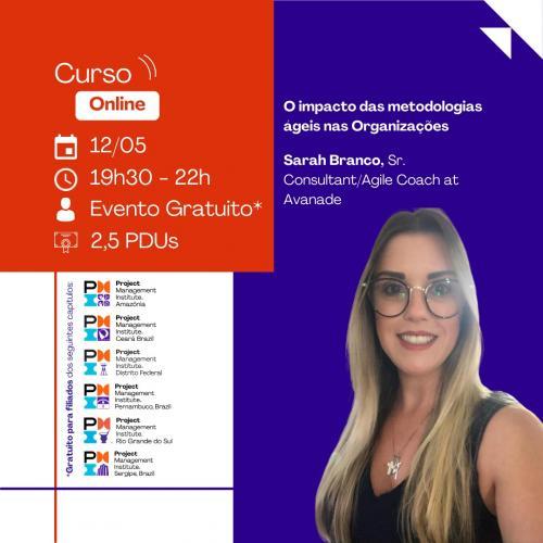 Curso Online | O impacto das metodologias ágeis nas Organizações
