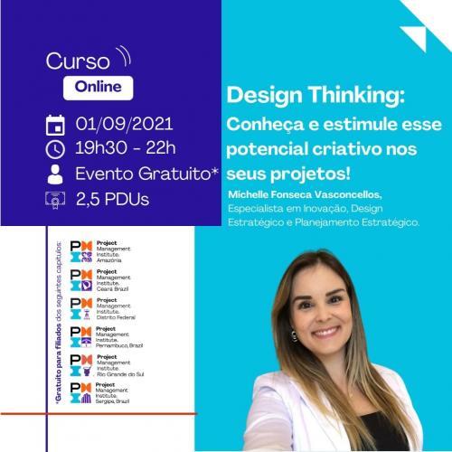 Curso Online | Design Thinking: Conheça e estimule esse potencial criativo nos seus projetos!