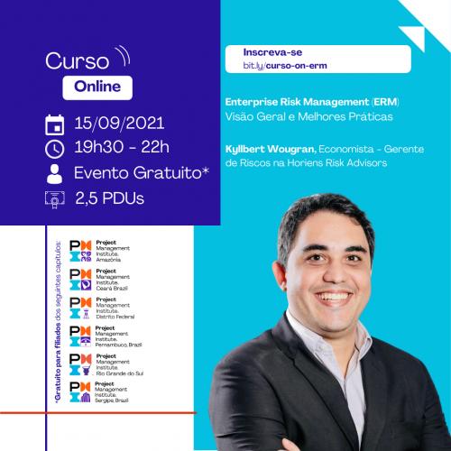 Curso Online | Enterprise Risk Management (ERM) - Visão Geral e Melhores Práticas