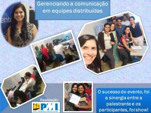 A terça ágil, Gerenciando a comunicação em equipes distribuídas, foi um sucesso!