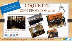 Coquetel com Projetos 2016