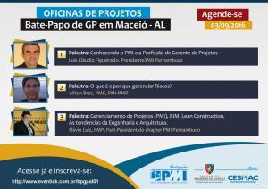 Bate-Papo de GP em Maceió - Oficina de Projetos (Maceió/AL)
