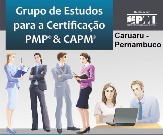 Inscrições Abertas - Grupo de estudos PMP® e CAPM® - Caruaru-PE