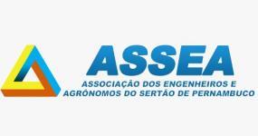 Logo: ASSEA  Associação dos Engenheiros e Agrônomos do Sertão de Pernambuco