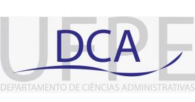 Logo: DCA UFPE - DEPARTAMENTO DE CIÊNCIAS ADMINISTRATIVAS